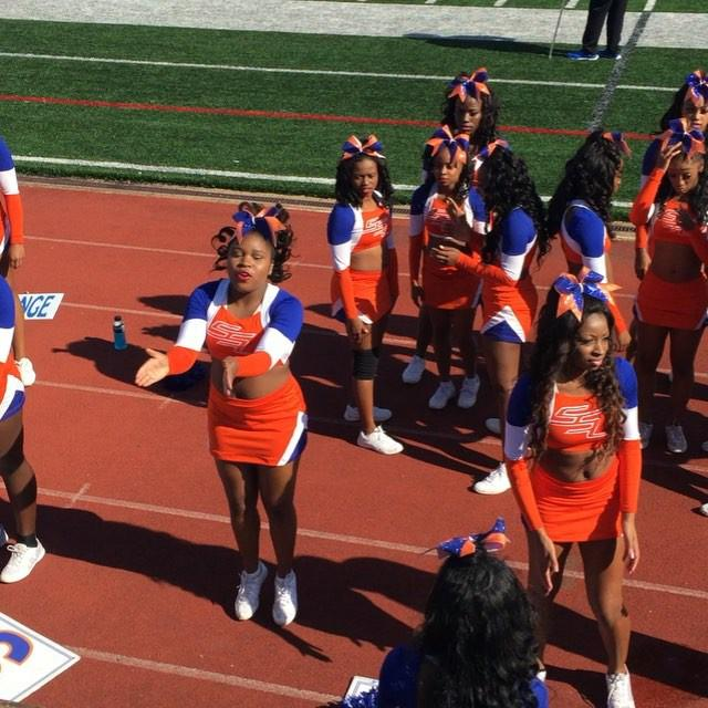SSU Cheerleaders