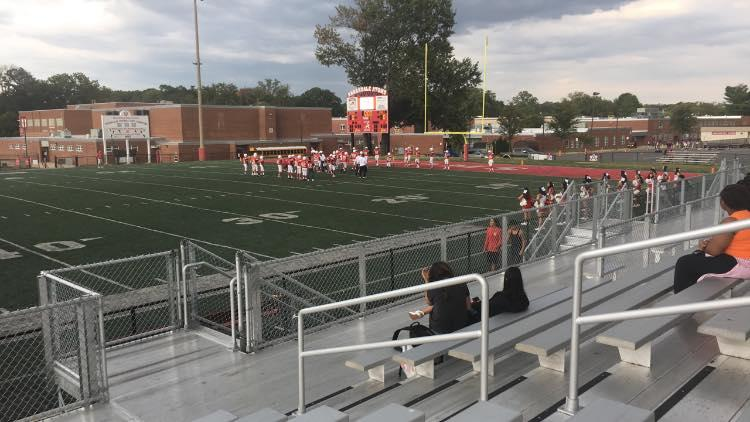 Freshmen Football: The Annandale Atoms suffer their first loss of the season vs. Fairfax