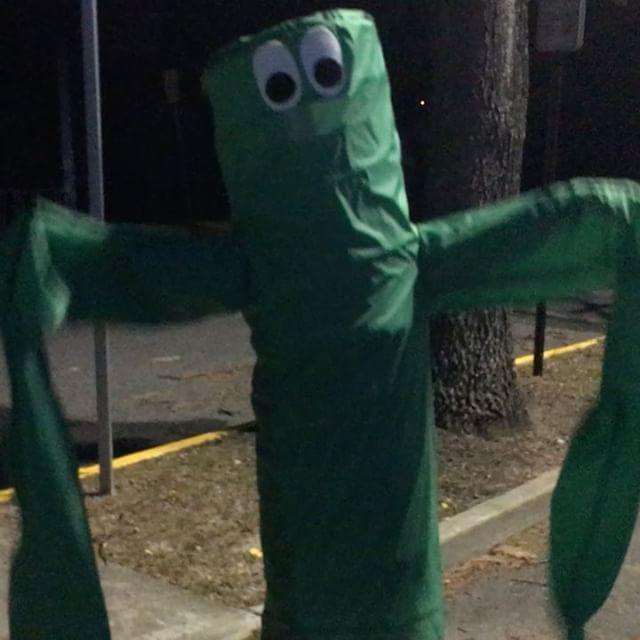 Inflatable Tube Man Costume