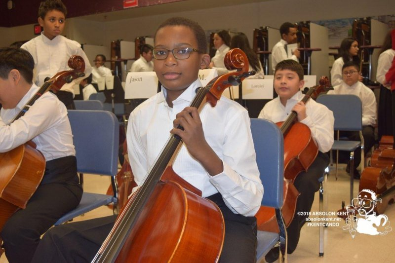Poe Middle School Orchestra Winter Concert