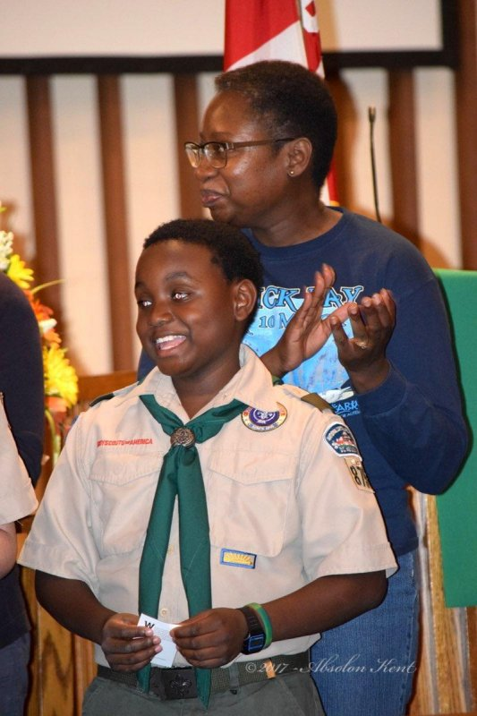 Boy Scout Honor Night