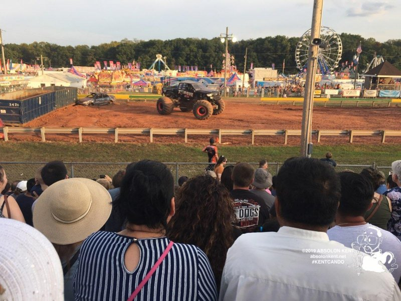 Monster Truck Night at the Prince William County Fair