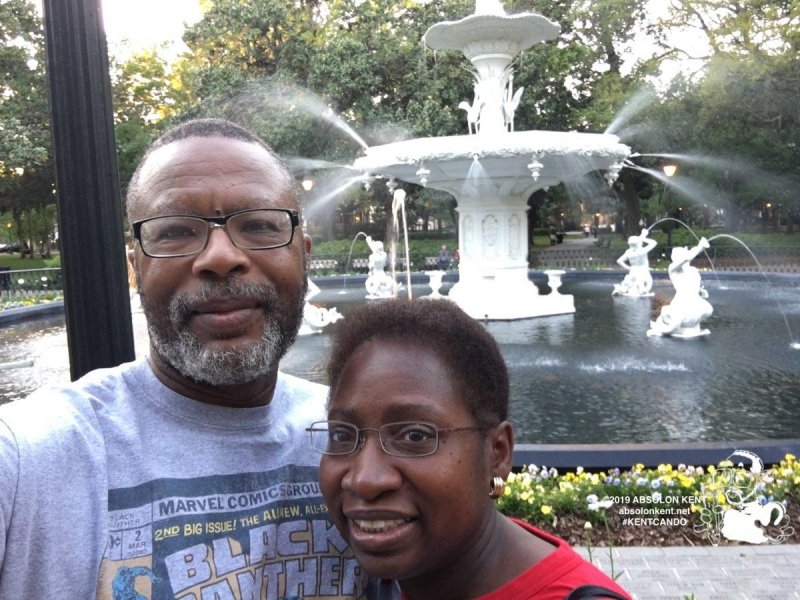 A Romantic Walk through Forsyth Park