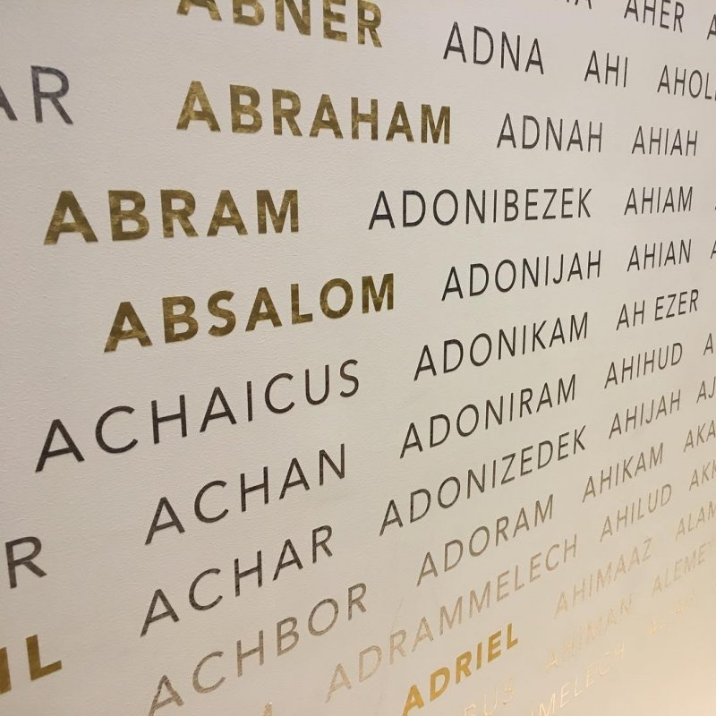 Names in the Bible