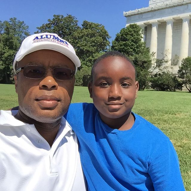 A visit to the Lincoln Memorial