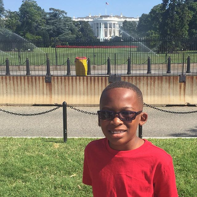 Little Kent 2 at the White House